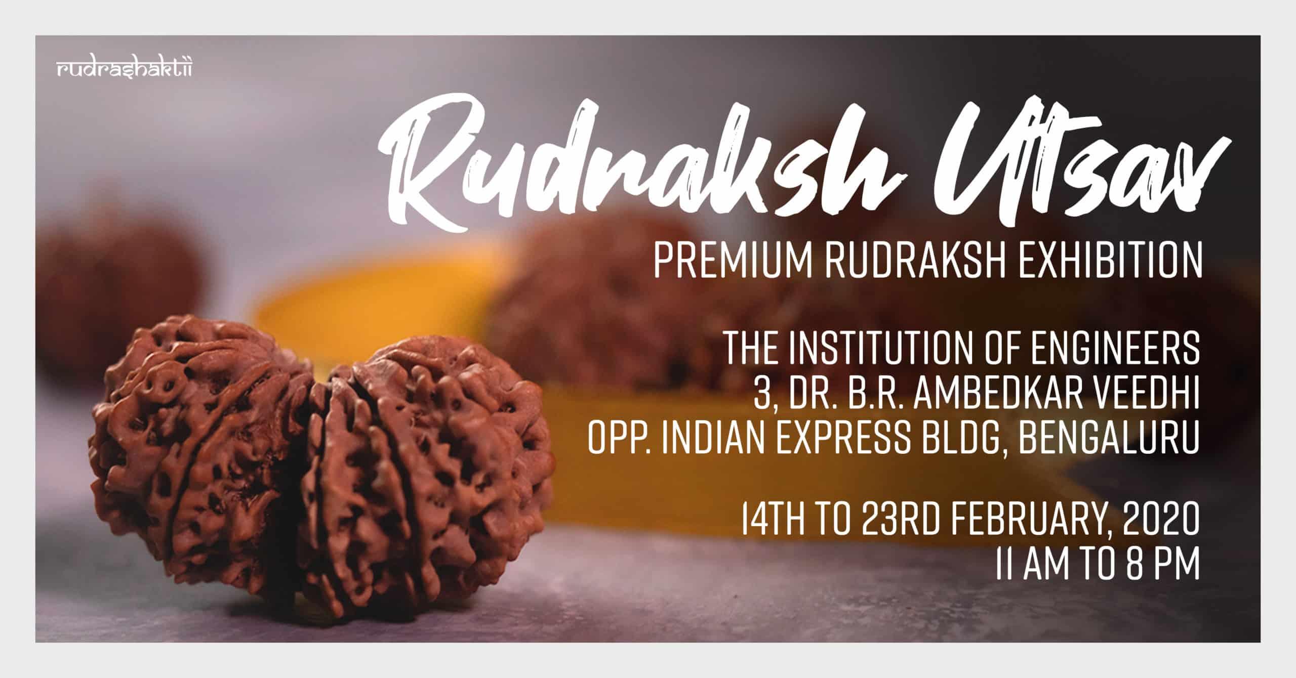 Bengaluru Rudraksha Exhibition